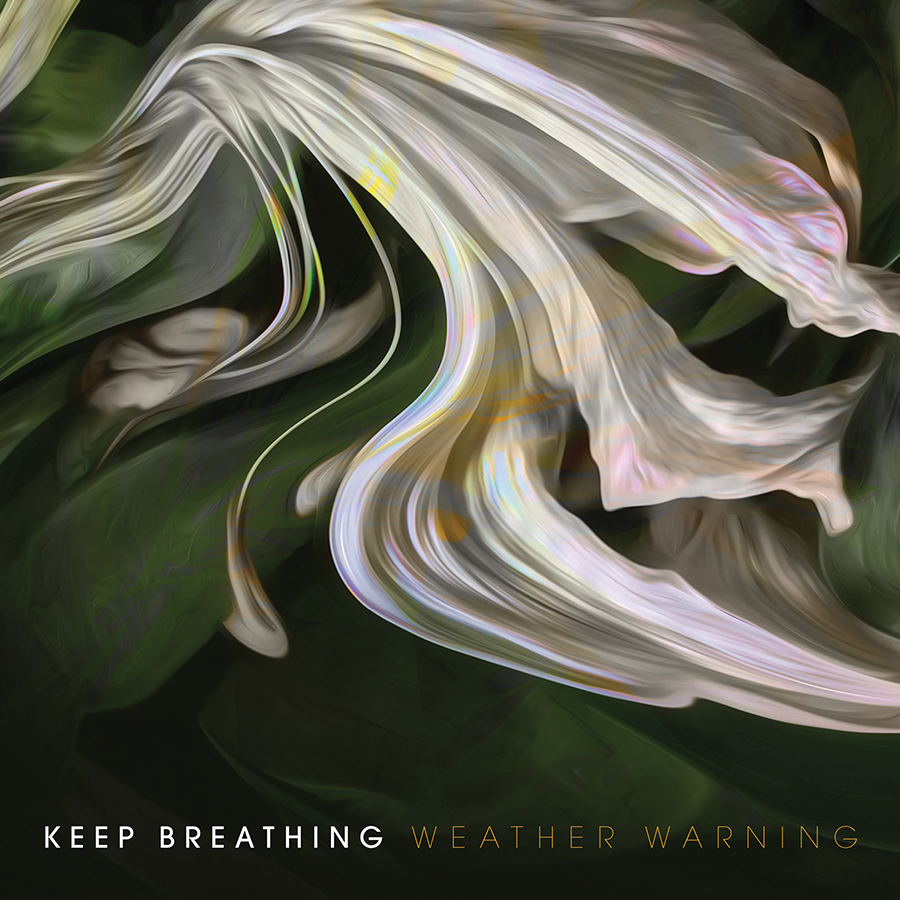Sleeve design for 'Weather Warning' by Keep Breathing.