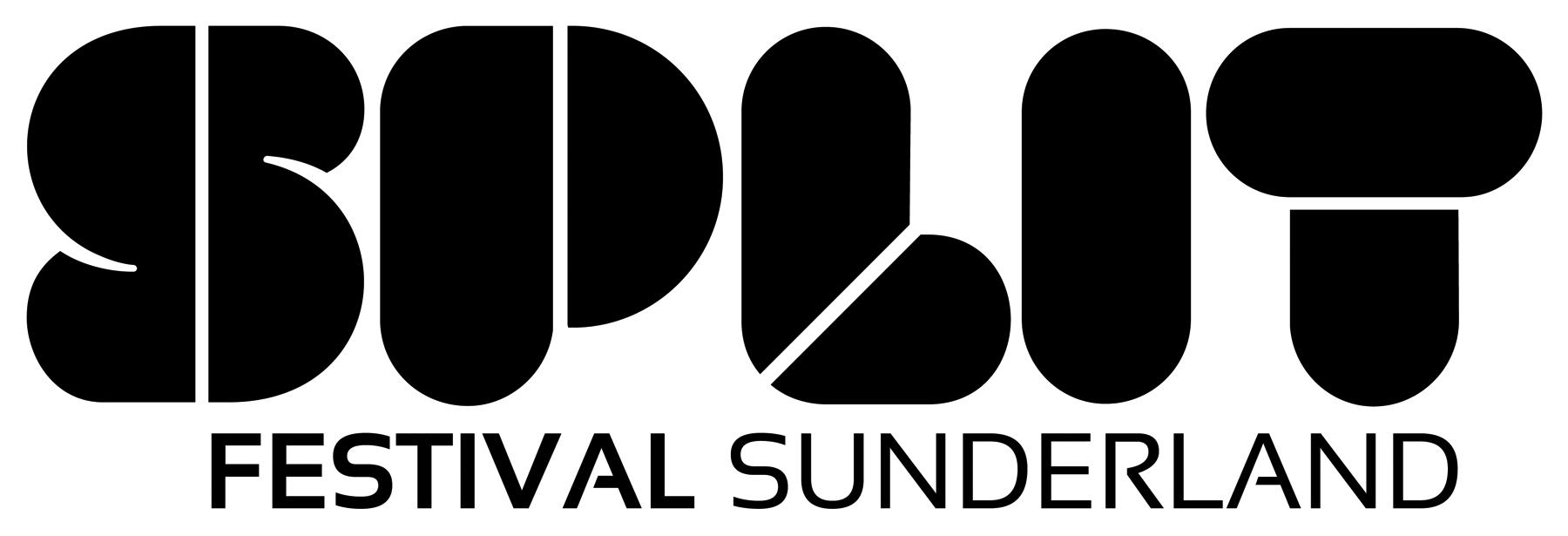 Identity for Sunderland's Split Festival.