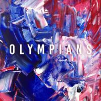 Cover design for the Kingsley Chapman and The Muder's 'Olympians'.