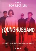 Poster design for Younghusband at Frankie & The Heartstrings' Pop Recs Ltd, Sund