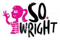 Logo design for Manchester-based DJ/radio presenter So. Wright